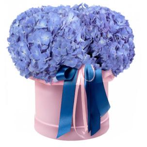 """Цветы в коробке """"Индиго"""""""